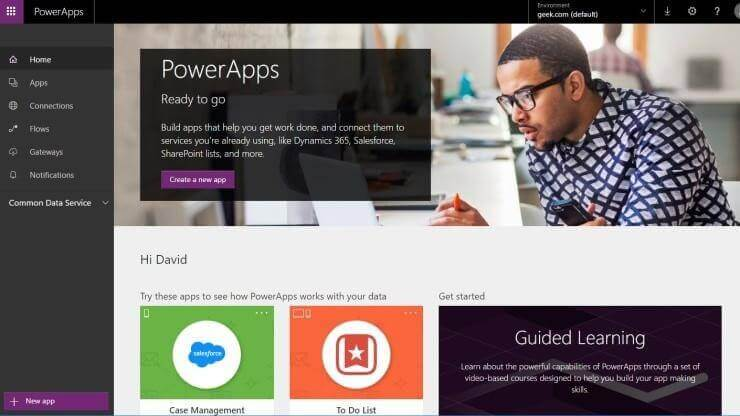 Microsoft PowerApps – A platform to build customized and powerful apps –